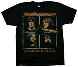 Pink Floyd - Dark Side Faces T-Shirts