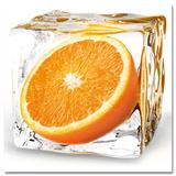 Orange Cube Posters