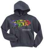 Hoodie: Grateful Dead - Trippy Bears Vêtements