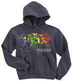 Hoodie: Grateful Dead - Trippy Bears - Kapüşonlu Sweatshirt