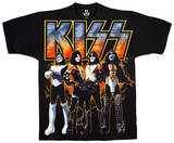 Kiss - Love Gun Group T-shirts
