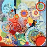 Dekor 105 Sträckt Canvastryck av Jeanne Wassenaar