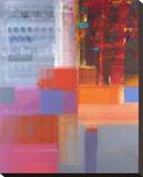 Piazza Stretched Canvas Print by Hooshang Khorasani
