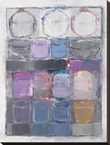 Impressions II Stretched Canvas Print by Hooshang Khorasani