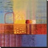 Luminescence III Stretched Canvas Print by Hooshang Khorasani