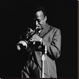 Miles Davis Reproduction sur toile tendue par Lee Tanner