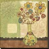 Bohemian Floral III Impressão em tela esticada por Wendy Bentley