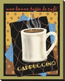 Cappuccino Stretched Canvas Print by Betty Whiteaker