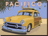 Pacifico Stretched Canvas Print by David Grandin