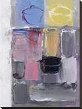 Impressions Stretched Canvas Print by Hooshang Khorasani