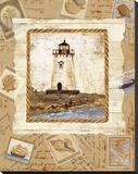 Ship to Shore III Bedruckte aufgespannte Leinwand von Lisa Ven Vertloh