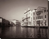 Grand Canal Stretched Canvas Print by David Westby