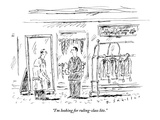 """I'm looking for ruling-class lite.""  - New Yorker Cartoon Premium Giclee Print by Barbara Smaller"