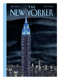 The New Yorker Cover - November 19, 2012 Premium Giclee Print by Mark Ulriksen