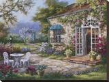 Spring Patio II Canvastaulu tekijänä Sung Kim