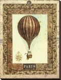 Vintage Hot Air Balloon I Stretched Canvas Print by Miles Graff