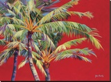 Fire Palm Impressão em tela esticada por Jean Bradley