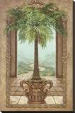 Classical Palm Tree Impressão em tela esticada por Janet Kruskamp