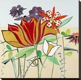 Hermoso día Reproducción de lámina sobre lienzo por Joan Elan Davis