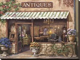Antique Shop Stretched Canvas Print by Sung Kim