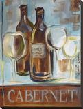 Cabernet Stretched Canvas Print by Jennifer Sosik