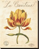 La Courtine Stretched Canvas Print by Constance Lael