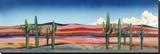 Three Reds Stretched Canvas Print by Patrick Coffaro