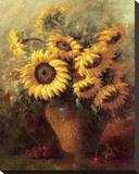 Maria's Sunflowers Impressão em tela esticada por  Walt