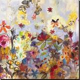 Joan Elan Davis - Garden of Honesty - Şasili Gerilmiş Tuvale Reprodüksiyon