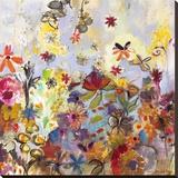Garden of Honesty Lærredstryk på blindramme af Joan Elan Davis