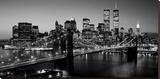Richard Berenholtz - Brooklyn Bridge, NYC - Şasili Gerilmiş Tuvale Reprodüksiyon