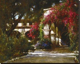 San Juan Capistrano Mission Stretched Canvas Print by Cyrus Afsary