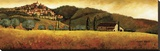 Olive Season in Tuscany Stretched Canvas Print by Santo De Vita