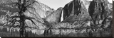 Yosemite Falls Stretched Canvas Print by Merle Somerville