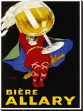Biere Allary, 1928 Stretched Canvas Print by Jean D' Ylen