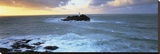 Lighthouse Isle Stretched Canvas Print by Peter Adams