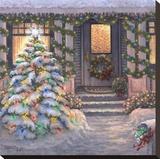 Welcome to Christmas キャンバスプリント : ジャネット・クルスカンプ