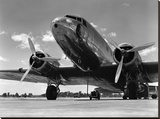 Avión comercial de los años 1940 Reproducción en lienzo de la lámina por H. Armstrong Roberts