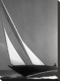 Ibis Yacht Cruising, 1936 Stretched Canvas Print by Edwin Levick