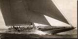 J Class Sailboat, 1934 Leinwand von Edwin Levick