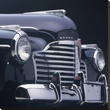 Detail of 1941 Buick Super 4-Door Convertible Stretched Canvas Print by Peter Harholdt