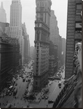 Times Tower in Times Square, 1931 Stretched Canvas Print