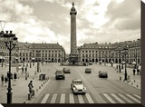 Place Vendome, Paris Stretched Canvas Print by Vadim Ratsenskiy