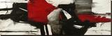 Red Profile Leinwand von Jim Stone