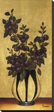 Renaissance Plums Stretched Canvas Print by  Madeira