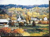 Sunday Morning Stretched Canvas Print by Kent Wallis