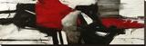Red Profile Toile tendue sur châssis par Jim Stone