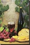 Wine Club ll Reproducción en lienzo de la lámina por Fred Wood