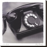 Dial Phone Stretched Canvas Print by Judy Mandolf
