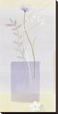 La Lavande l Stretched Canvas Print by Simone Devalle